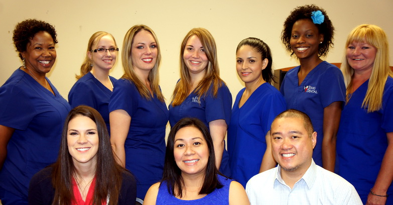 Texas Dental Employee Group Picture